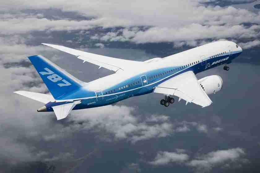787-8 Dreamliner.