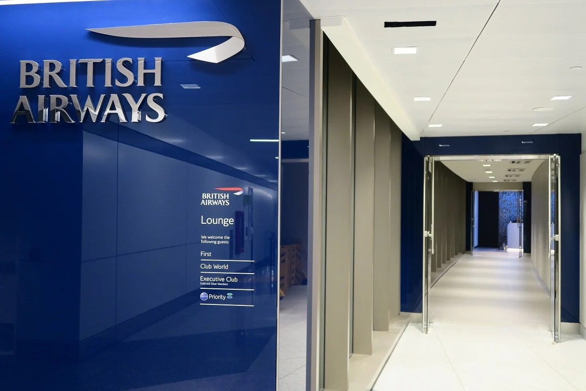 First Look Inside The New British Airways Lounge At Bos