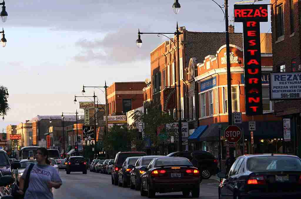 Chicago neighborhoods like once-Swedish Andersonville are breaking out of their traditional cultural stereotypes. Image courtesy of Charles Osgood/Chicago Tribune/MCT/Getty Images.