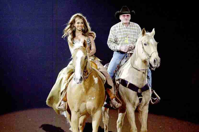 Who knows? You might even see hometown gal Beyonce at the Houston Rodeo. Image courtesy ofFrank Micelotta via Getty Images.