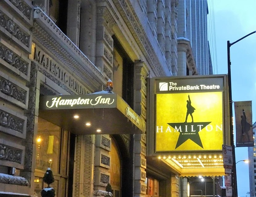 Chicago Hotel And Hamilton Tickets
