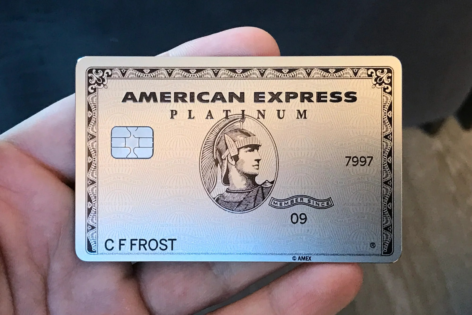 The american express business platinum card is going metal magicingreecefo Choice Image
