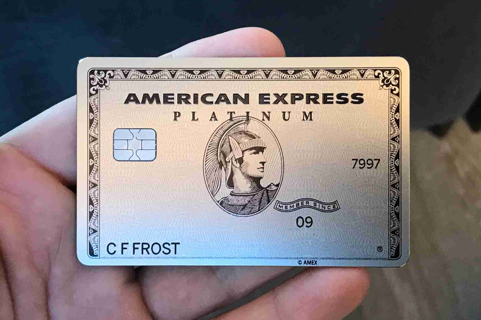 metal amex platinum card