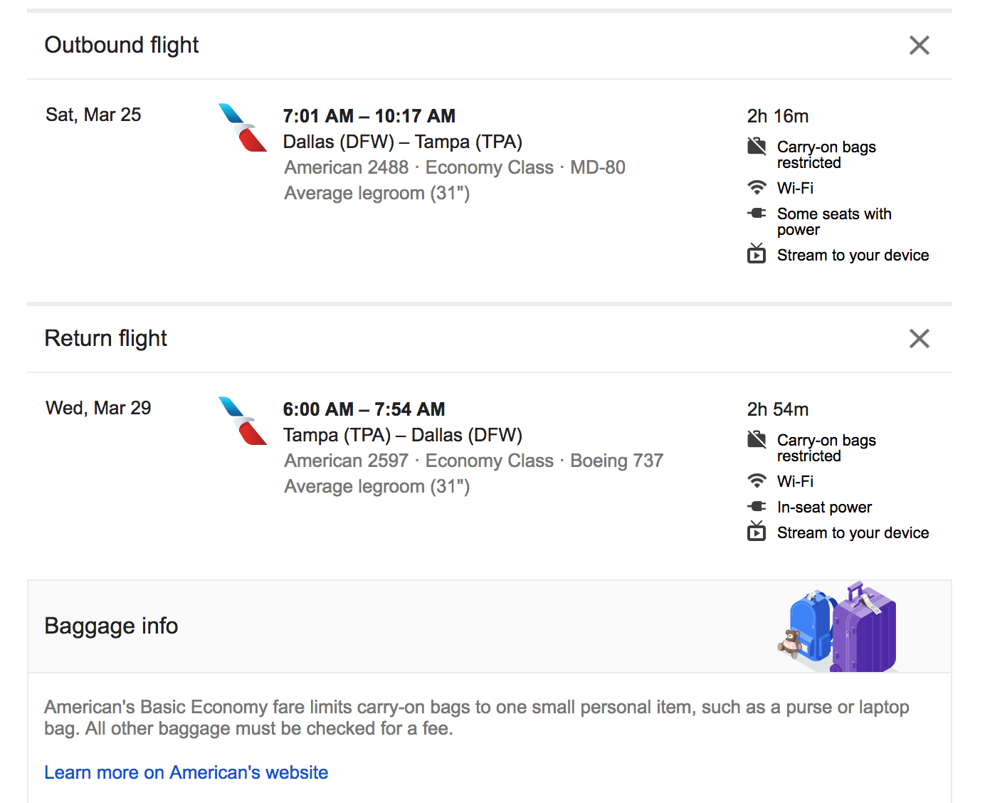 Google Flights Tells You The Baggage Rules On Some Tickets,House Of The Rising Sun Piano Chords Easy