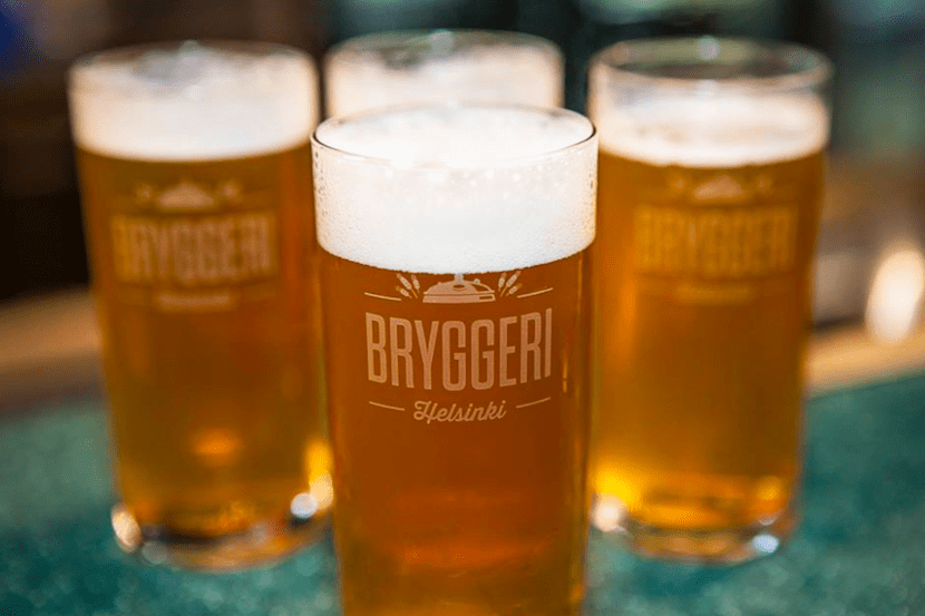 Enjoy a pint from the many local breweries. Image courtesy of Bryggeri Helsinki