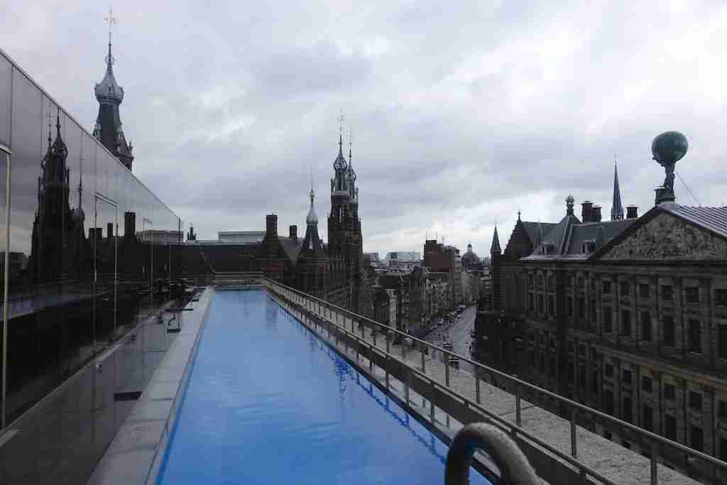 The rooftop pool, WET, must be pretty cool in summer.