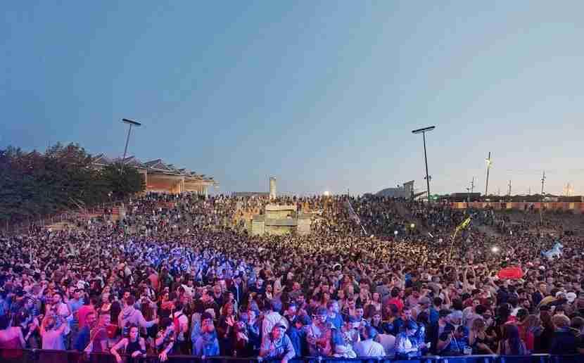 Over 200 bands will play in Barcelona during Primavera Sound. Image courtesy of Santiago Periel via Primavera Sound Festival