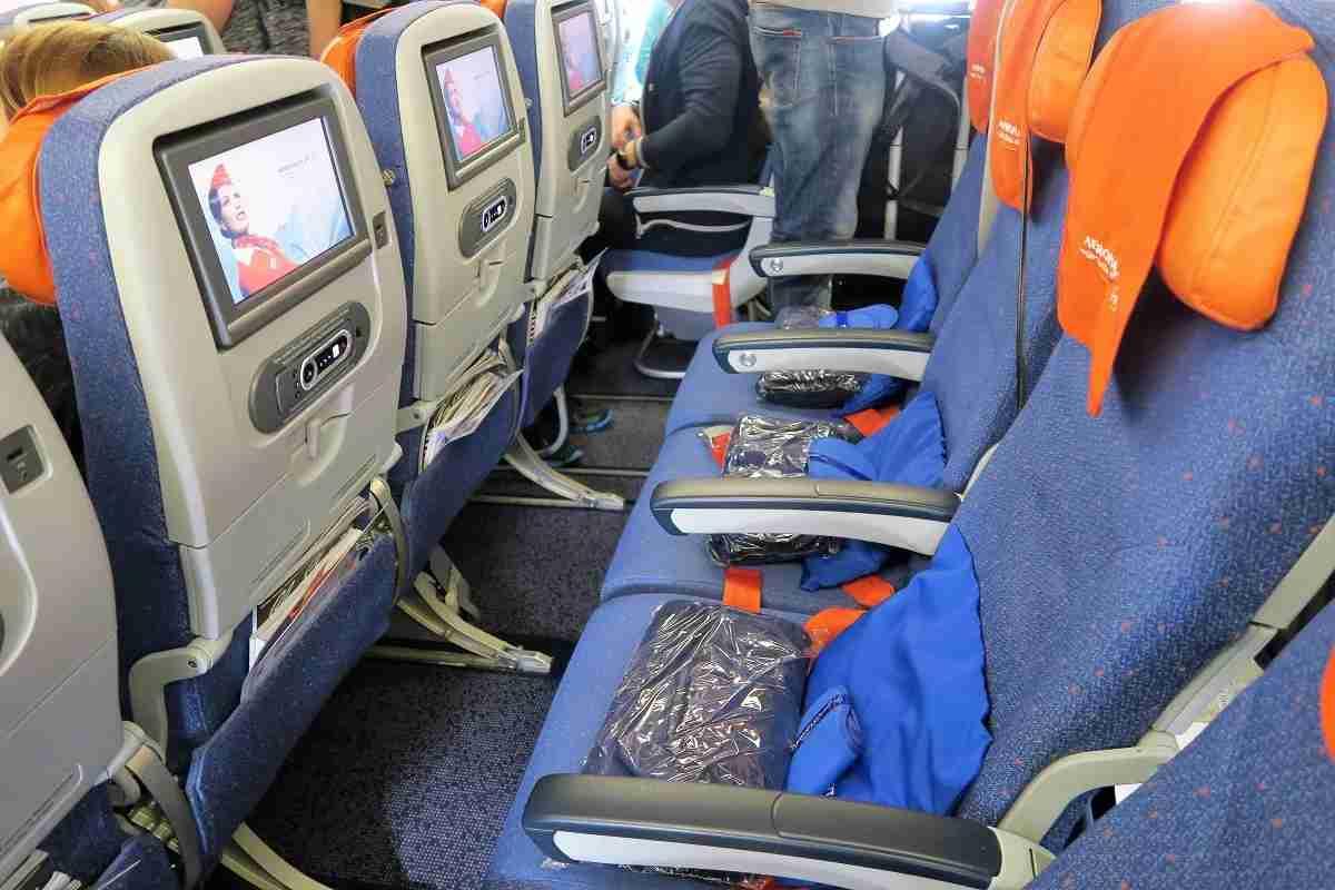 Aeroflot 77W economy legroom