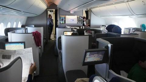 Review British Airways 787 8 Biz London To New Orleans