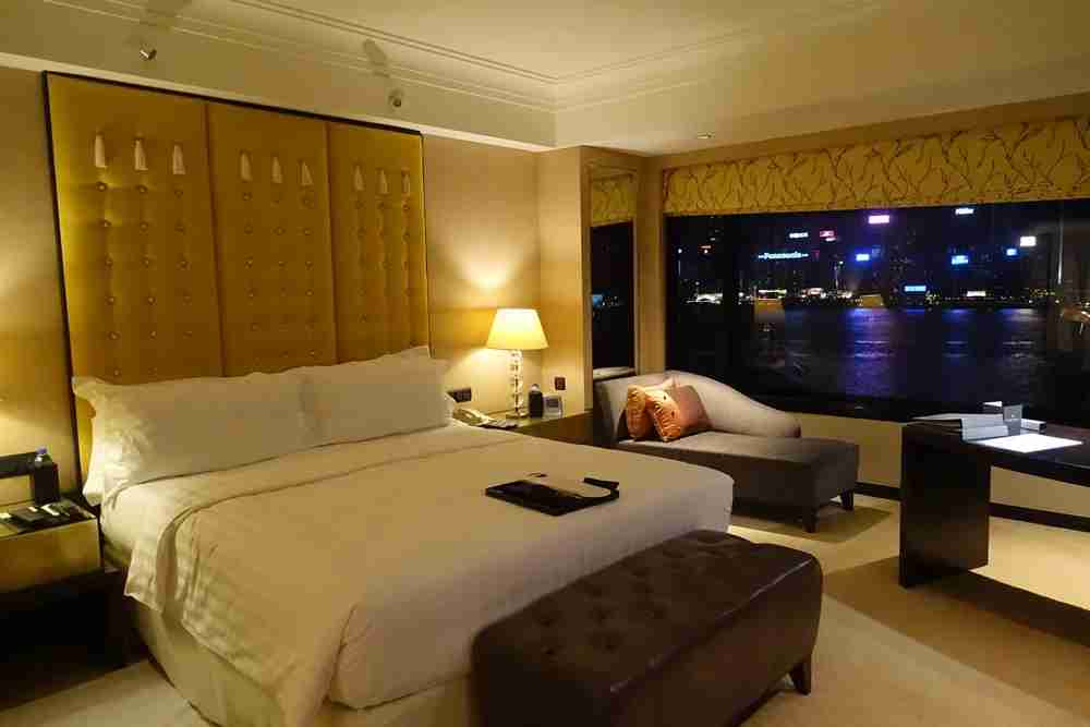 My new room, the Harbor View Room.