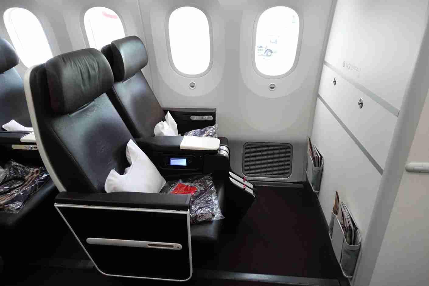 Virgin Atlantic prem econ seat