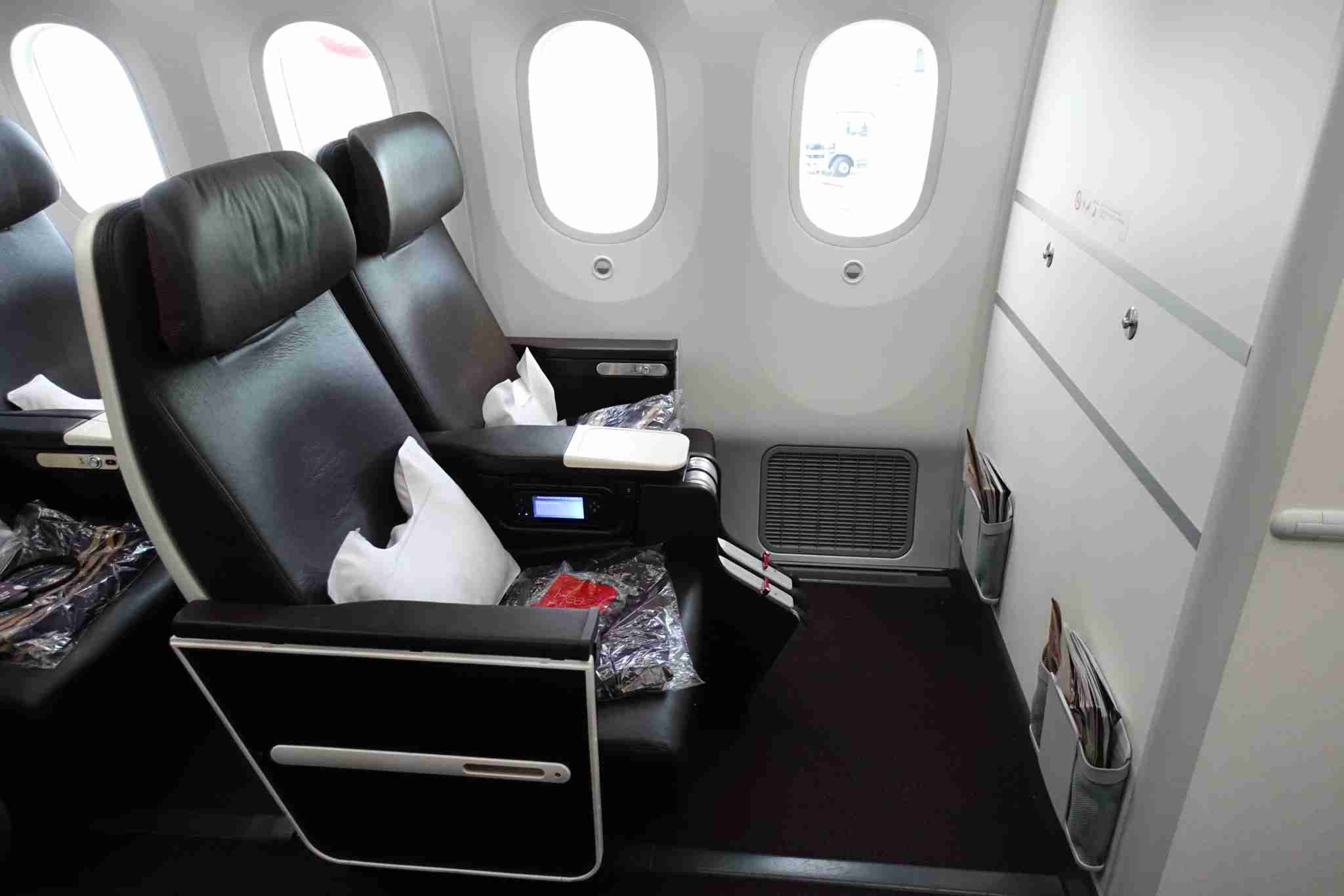 Virgin Atlantic prem econ seat
