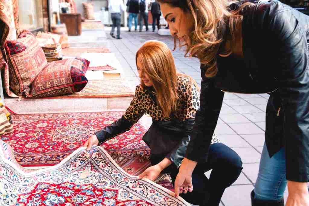 How can you beat actual Turkish rugs from Istanbul? Image courtesy of RoBeDeRo via Getty Images.