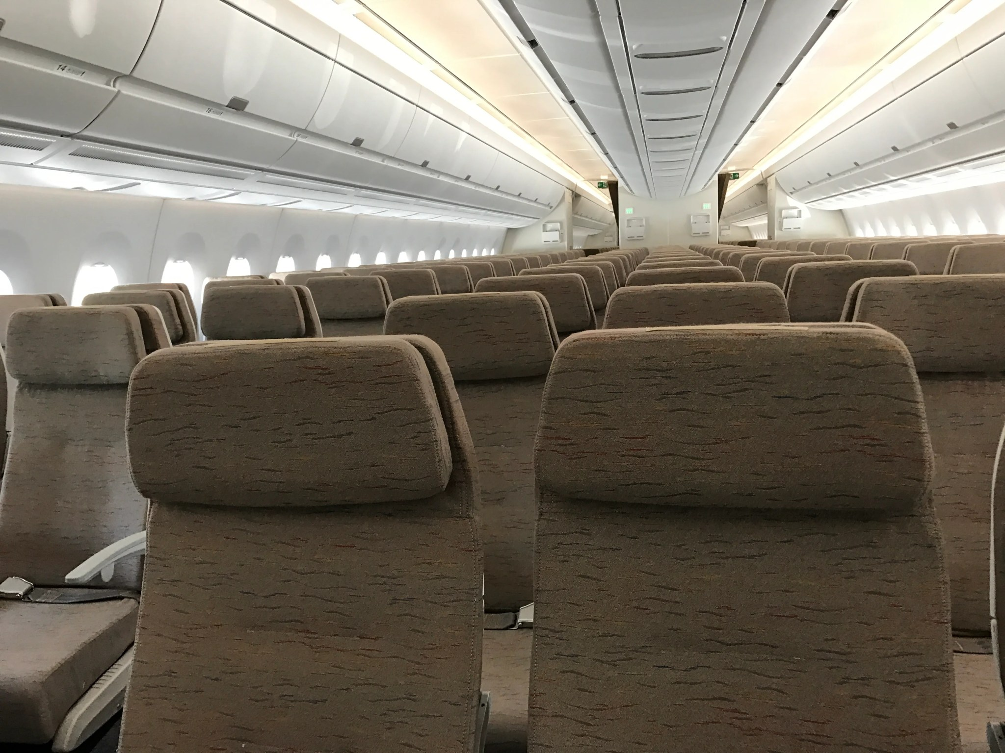A Look Inside Asiana Airlines First Airbus A350