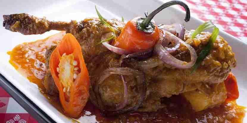 One of the hearty dishes at La Picantería. Photo courtesy of La Picantería.