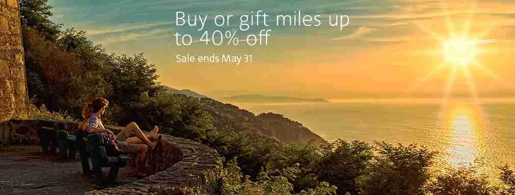 Buy AA miles for as little as 1.92 cents per mile with this promotion.