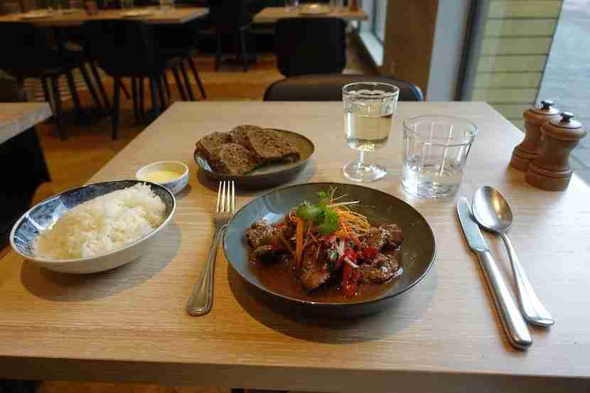 Hyatt Amsterdam lunch