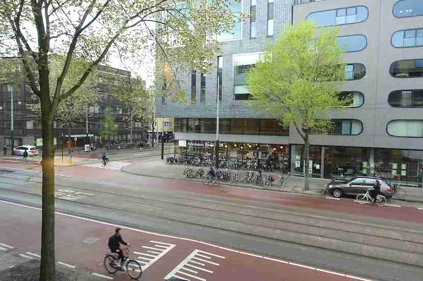 Hyatt Amsterdam view