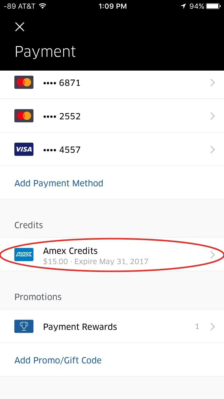 Do Amex Platinum Uber Credits Work With UberEats?
