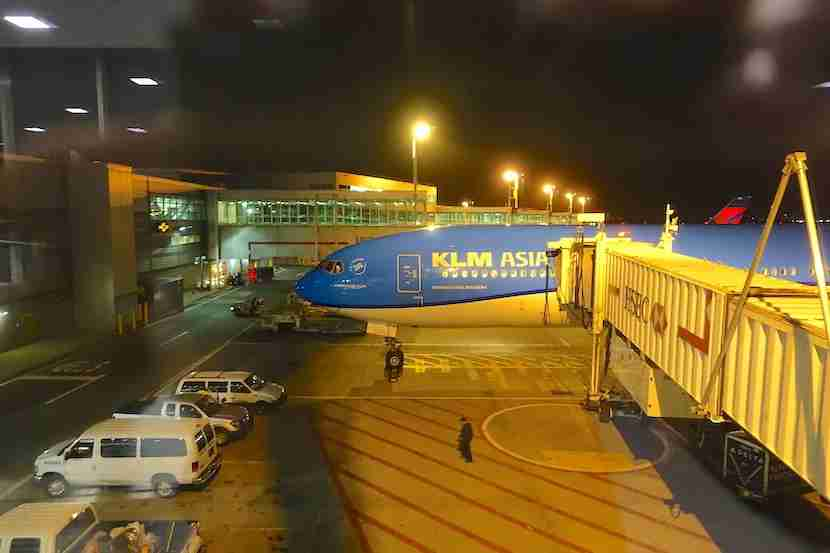 I would be flying on KLM