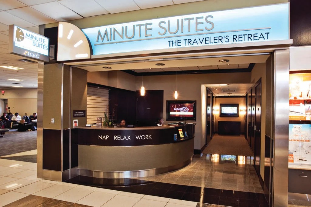 Minute Suites at ATL (Photo by JT Genter/The Points Guy)
