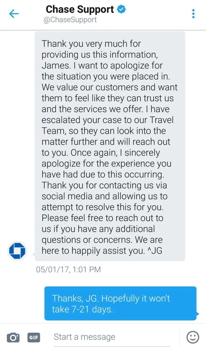Chase Replied A Couple Days Later Via Dm Underground Utility Search Tips  Providing Professional Services To Plaid Link Webview Example How To Fill  Out
