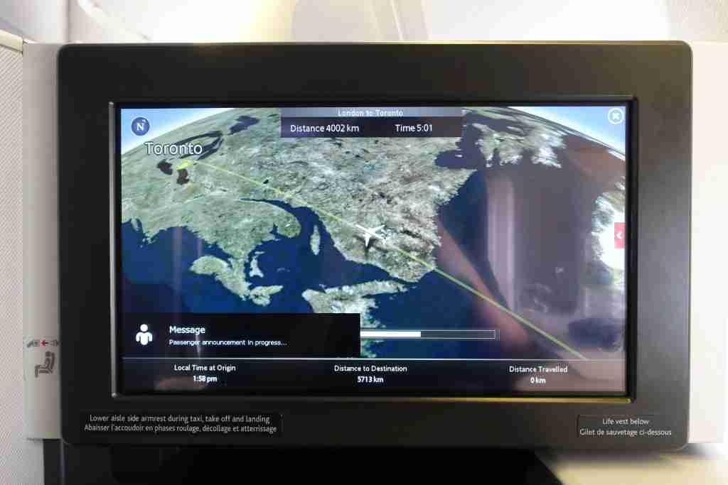 Air Canada 777-300ER Business Class Review