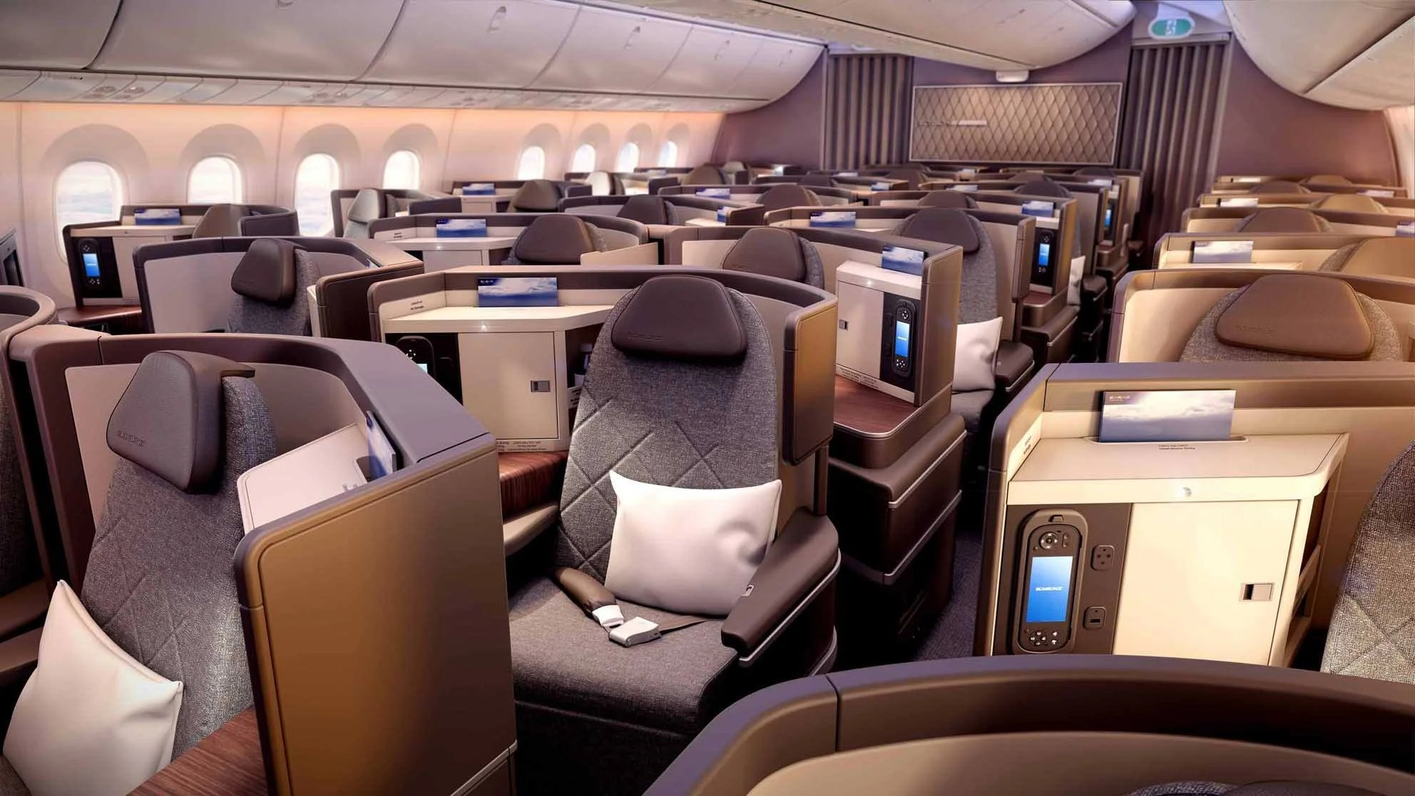 A look inside el al 39 s new 787 9 dreamliners for Interieur avion easyjet