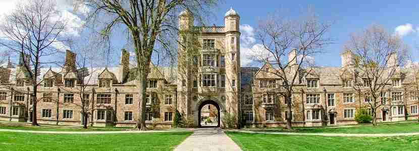 """The Campus of the University of Michigan Law School in Ann Arbor is also known as """"The Law Quad"""" or """"The Law Quadrangle"""". On the Campus students live in dorm rooms of a facility known as the """"Lawyers Club""""."""