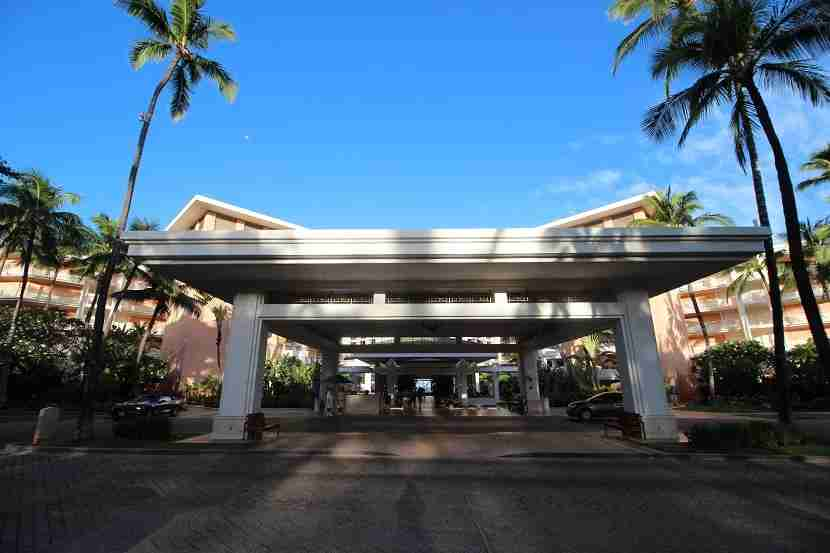 IMG Grand Wailea main entrance