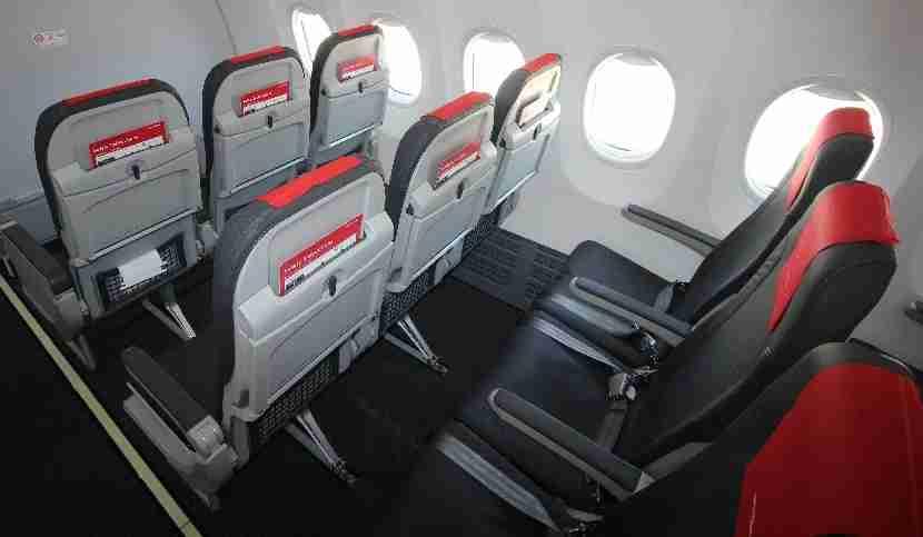 IMG Norwegian Air Boeing 737 MAX 8 seat backs