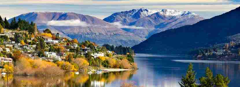 Queenstown is a scenic resort town in Otago Province of New Zealand
