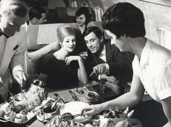 BOAC Boeing 707 First Class. Photo courtesy of British Airways.