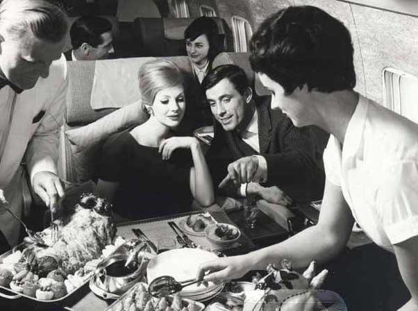 BOAC Boeing 707 First Class. Photo courtesy of British Airways.