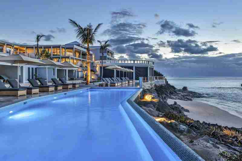 The new Loren hotel adds a much-needed modern accommodation option to the island. Image courtesy of the hotel.