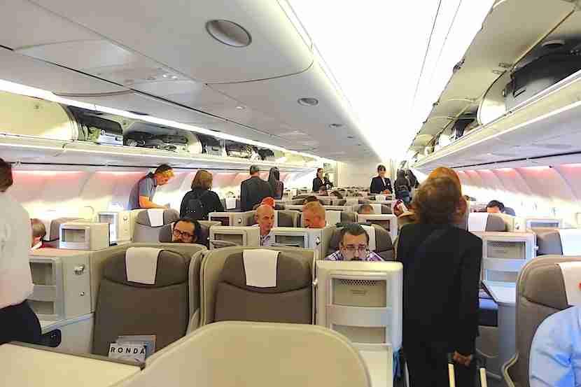 Iberia cabin 1