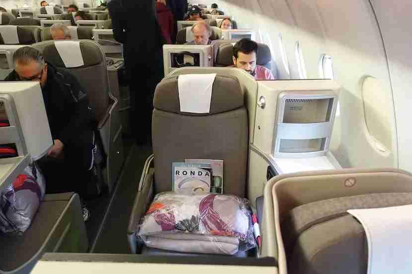 Iberia side seat 3