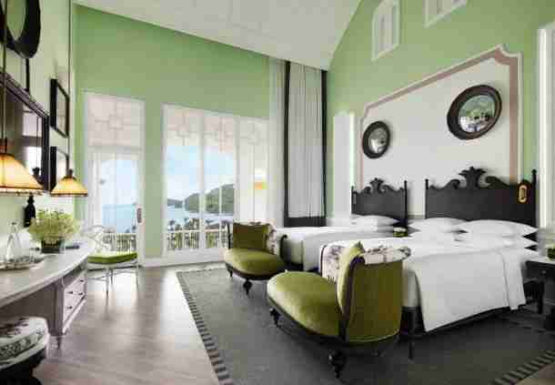 A standard room at the JW Marriott Phu Quoc Emerald Bay Resort & Spa.