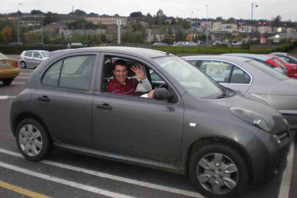 While I loved zipping around Ireland in this rental car a few years back, I may not have been covered by my card