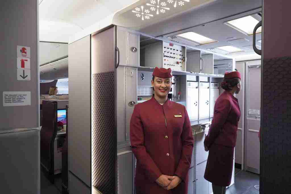 Qatar 777 Qsuite First Look