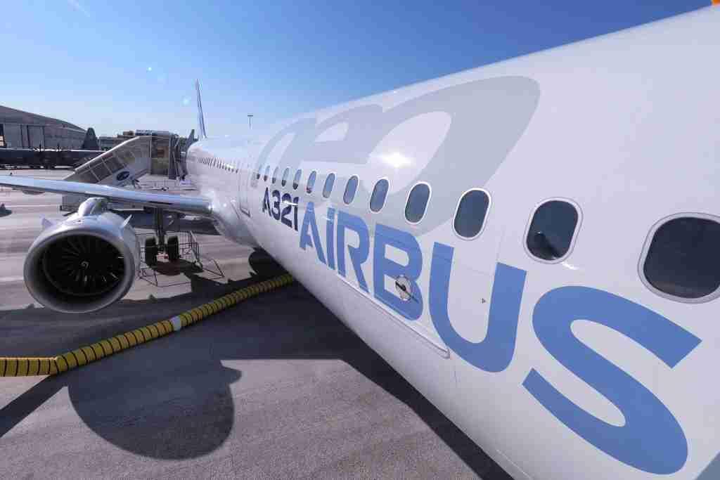Airbus A321neo Paris Air Show