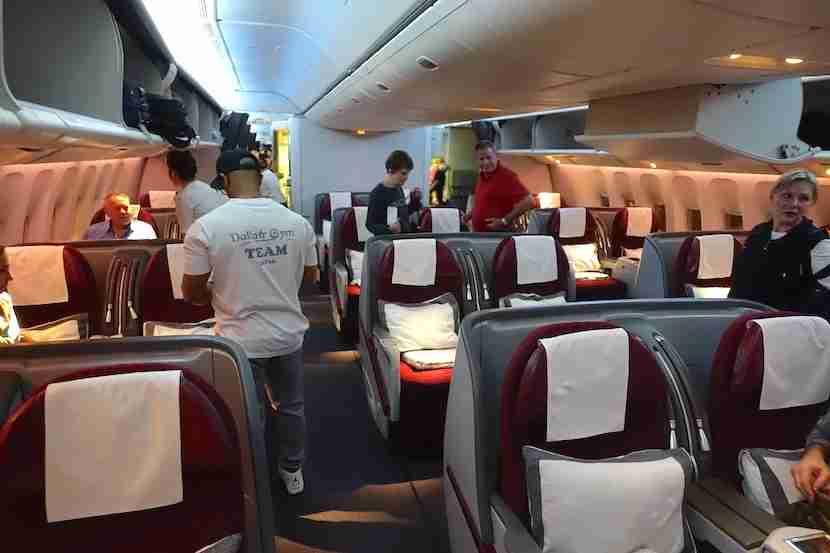 Qatar 777 cabin 2