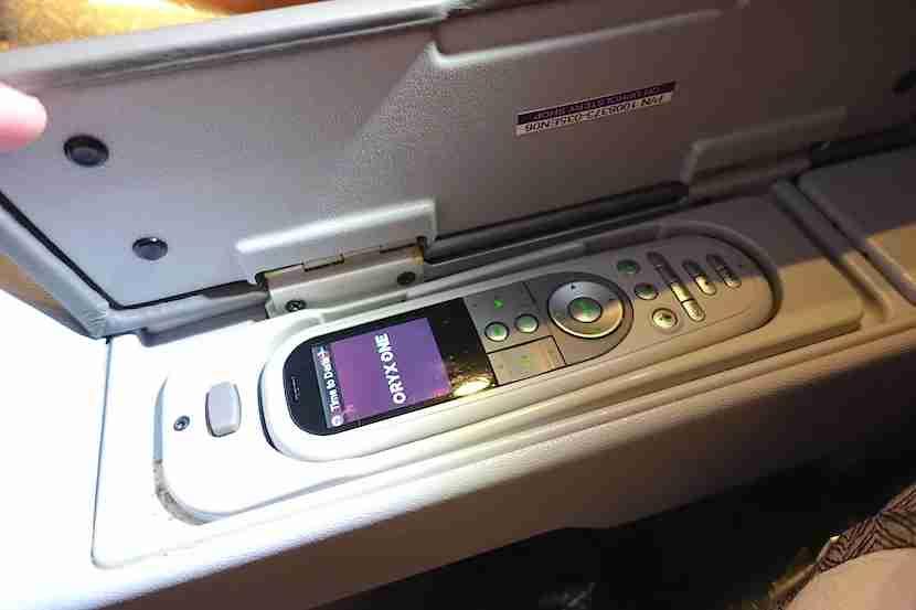 Qatar 777 remote control