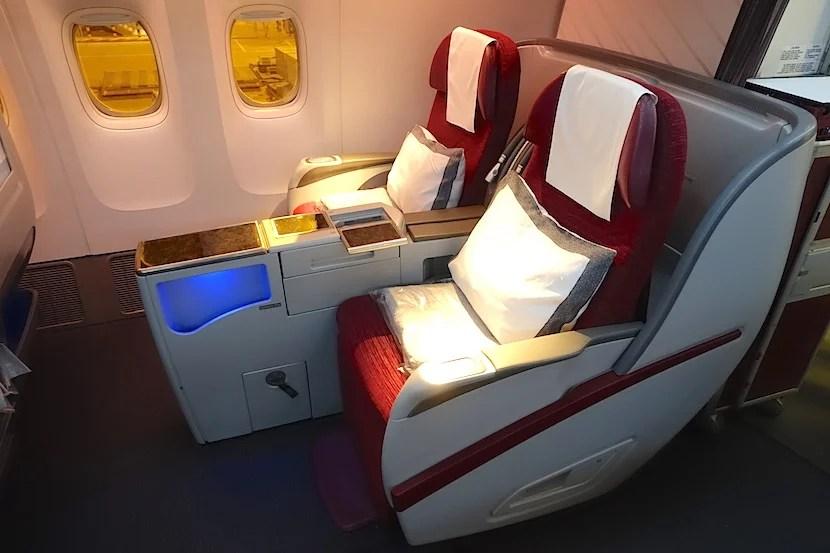 Qatar 777 side seats good
