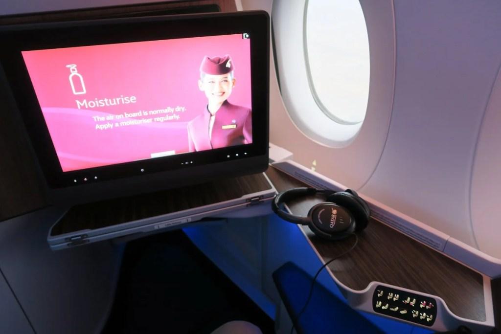 Flight Review: Qatar (A350-900) Business, Boston to Doha