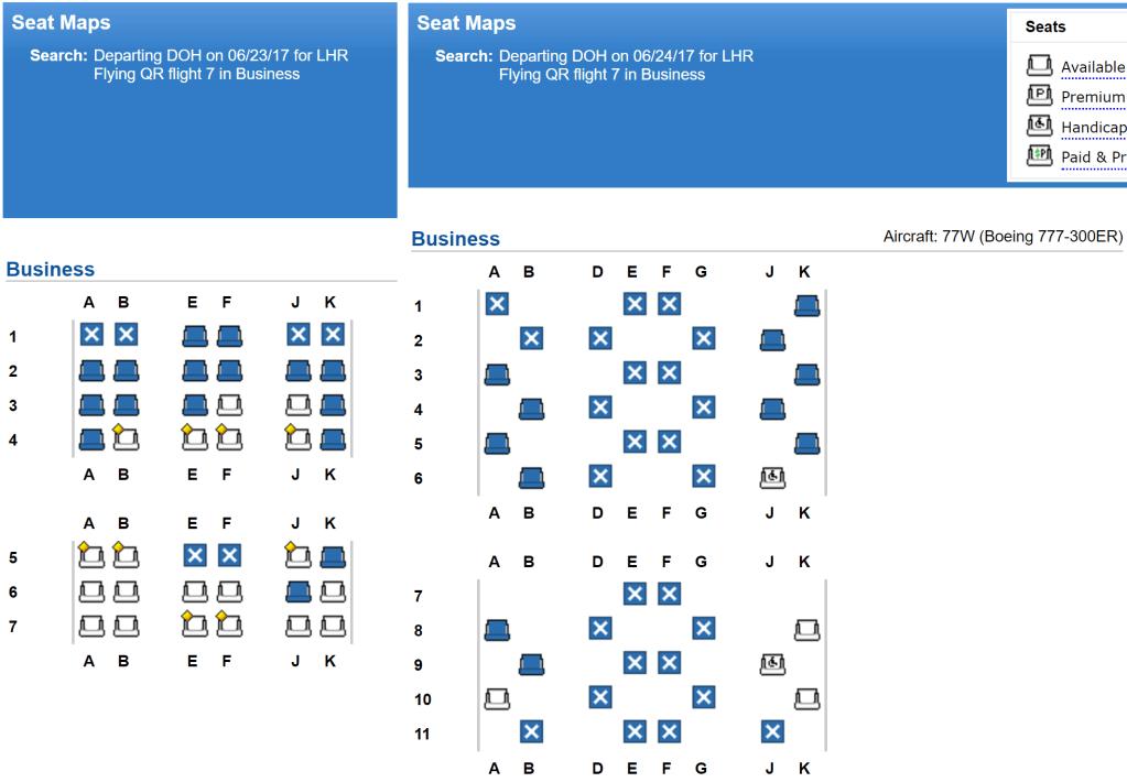 Seating Plan Boeing 777 300er Qatar Brokeasshome Com