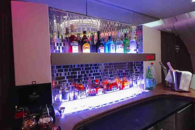 Qatar bar backsplash