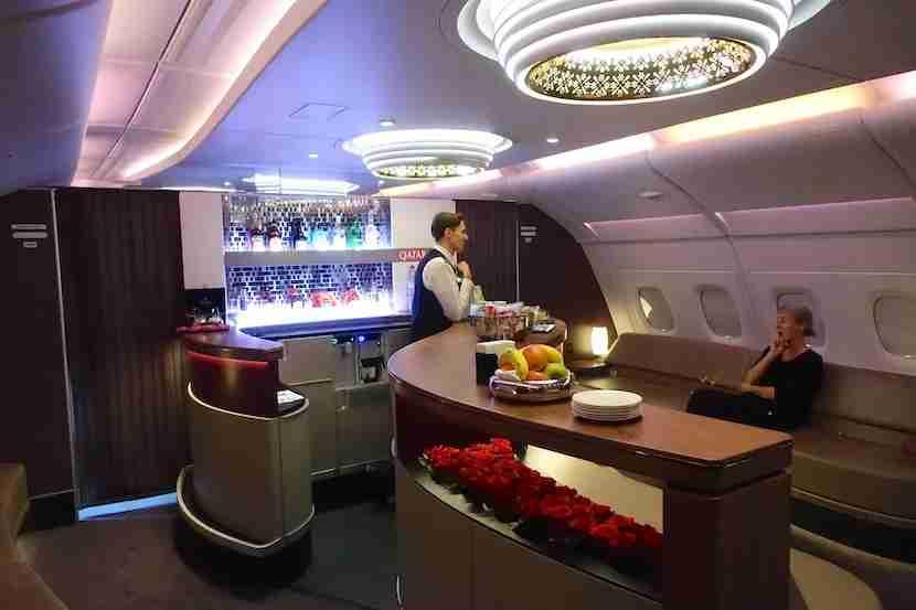 Qatar bar rear