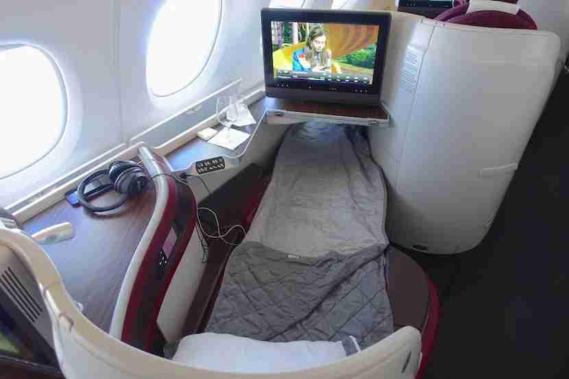 Qatar bed overhead