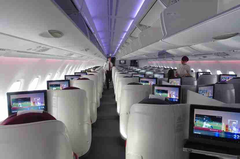 Qatar cabin back 3